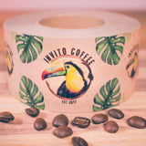 invito coffee compostable packing tape