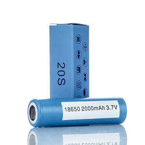 SAMSUNG 20S 18650 BATTERIES - 3.7V - 2000MAH