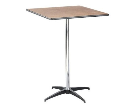 30X30 TALL SQUARE BISTRO TABLE