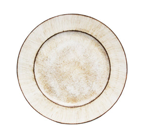 "RUSTIC PLAIN ROUND 13"" CHARGER"