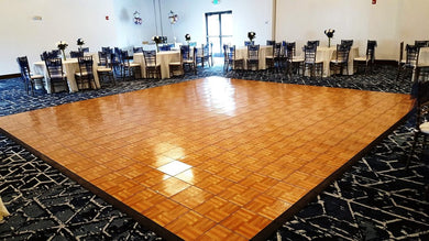 OUTDOOR PARQUET DANCE FLOOR