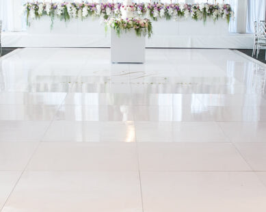 15X18 All White Inside Dance Floor