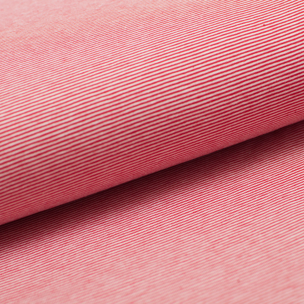 ROUGE ET BLANC 1MM<br>COTTON/SPANDEX<br>TEINT AU BRIN