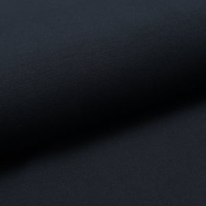 DARK NAVY cotton / spandex french terry