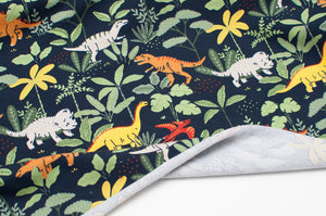DINOSAURIA cotton / spandex organic french terry