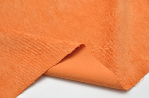 ORANGE poly / nylon / spandex Stretch corduroy
