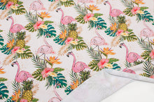 FLAMING PINEAPPLE cotton / spandex Jersey