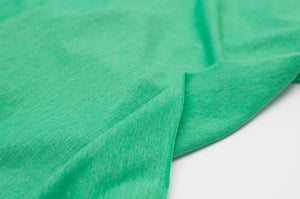 VERT CHINÉ<br>coton/poly/spandex<br>jersey