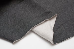 CHARCOAL HEATHER cotton / poly hoodie