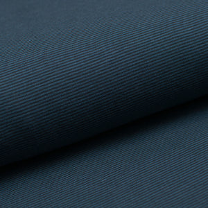 BLACK AND LAGOON 1MM COTTON / SPANDEX STRAND DYED