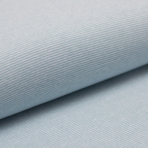 MINT AND WHITE  cotton / spandex  Ribbing