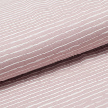 STRIPED OLD PINK cotton / spandex Jersey
