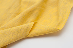 HEATHER YELLOW  cotton / poly / spandex  Jersey