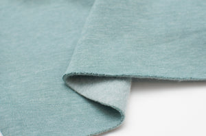 PALE MINT HEATHER cotton / poly hoodie