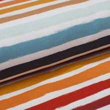 SUMSEA STRIPED cotton / spandex french terry