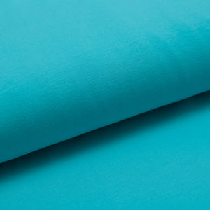 TURQUOISE  cotton / spandex  Jersey