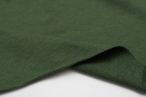 OLIVE bamboo / cotton / spandex french terry