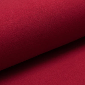 CHERRY bamboo / cotton / spandex french terry