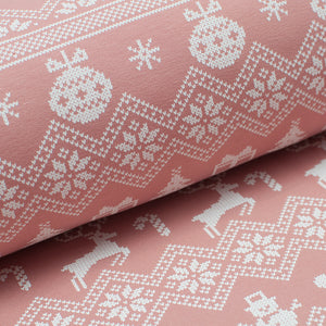 PINK DEER cotton / spandex brushed french terry