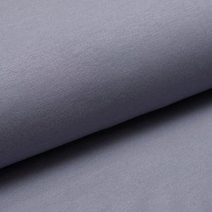 GREY BLUE bamboo / cotton / spandex french terry