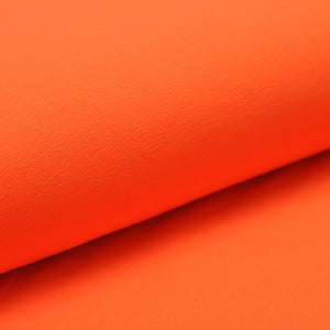 ORANGE  cotton / spandex  Jersey