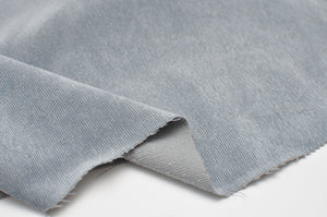 LIGHT BLUE poly / nylon / spandex Stretch corduroy