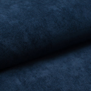 NAVY poly / nylon / spandex Stretch corduroy