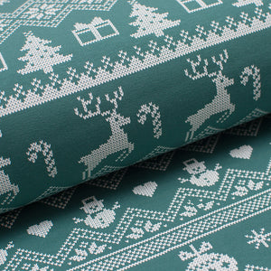 GREEN DEER cotton / spandex brushed french terry