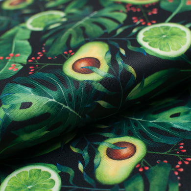 MINI AVOCAT LIME<br>polyester<br>pul