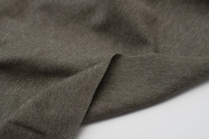 HEATHER KHAKI  cotton / poly / spandex  Jersey