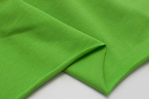 LIME  cotton / spandex  Jersey