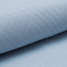 LIGHT BLUE  100% cotton  quilted