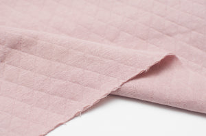 OLD PINK  100% cotton  quilted