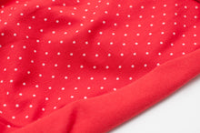 LITTLE RED DOT  cotton / spandex  organic jersey