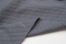 GREY BLUE  100% cotton  quilted