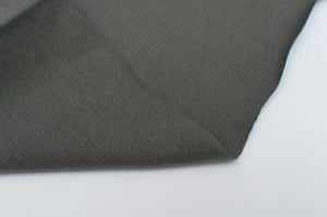 KHAKI  cotton / spandex  Ribbing