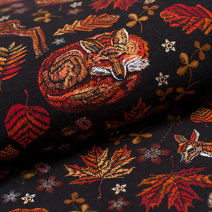 FAWN AND FOX cotton / spandex french terry