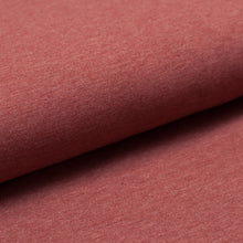 RUST HEATHER  cotton / poly / spandex  Jersey