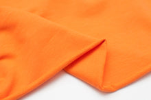 ORANGE<br>coton/spandex<br>french terry