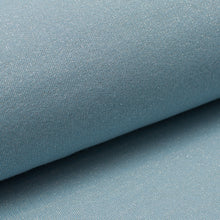 LIGHT BLUE cotton / poly / spandex shiny french terry