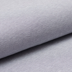 GRAY AND WHITE 1MM COTTON / SPANDEX STRAND DYED