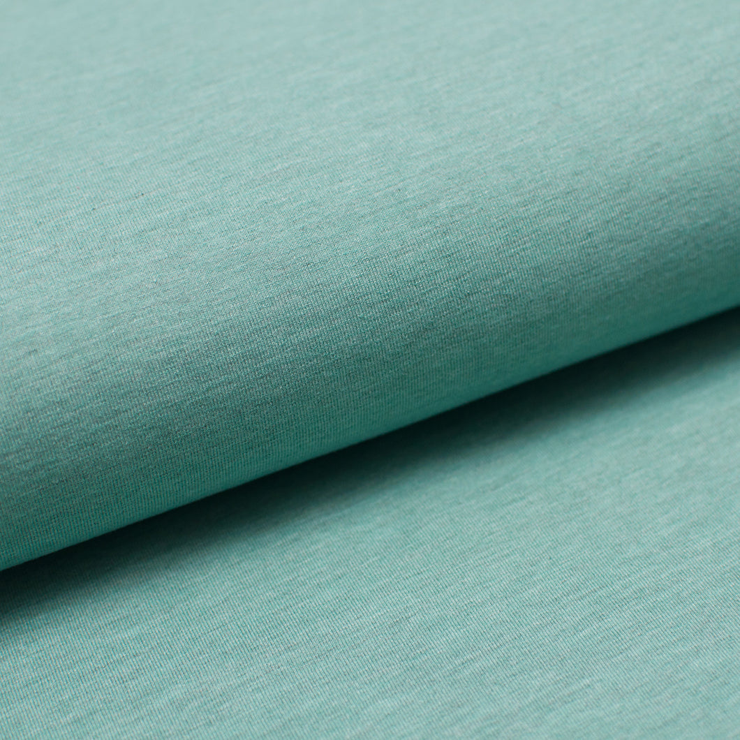 MENTHE CHINÉ<br>coton/poly/spandex<br>jersey