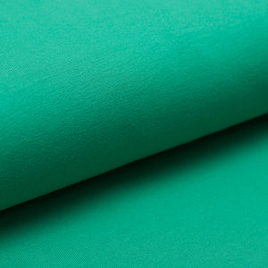 GREEN  cotton / spandex  french terry