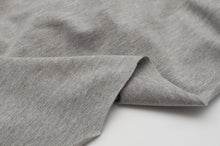 LIGHT GRAY HEATHER  cotton / spandex  Jersey