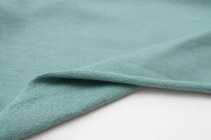 MINT cotton / spandex french terry