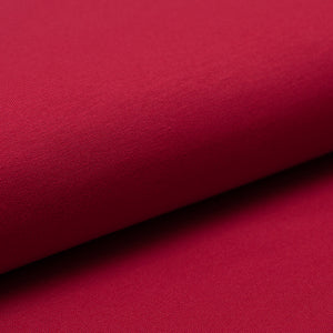 CHERRY cotton / spandex french terry