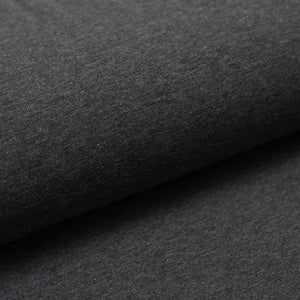 CHARCOAL CHINÉ<br>coton/spandex<br>jersey