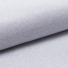LIGHT GRAY AND WHITE  cotton / spandex  Ribbing
