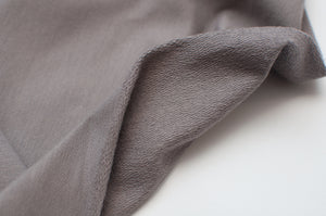 TAUPE GRAY  cotton / spandex  french terry