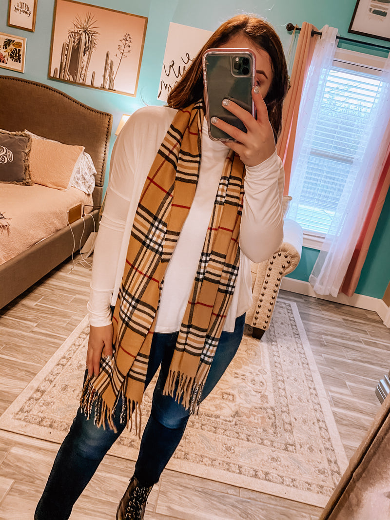 Burberry Scarf (2 colors)